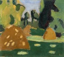 弗朗西斯·毕卡比亚 - 绘画 - Les Meules