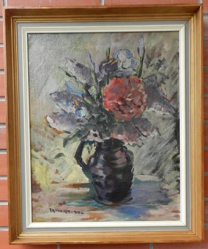 Anton ERHARDT - Painting - Bouquet