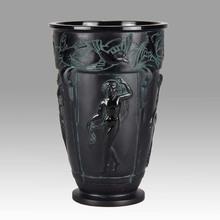 "Marius Ernest SABINO -  ""Bacchantes Vase"" by Sabino"