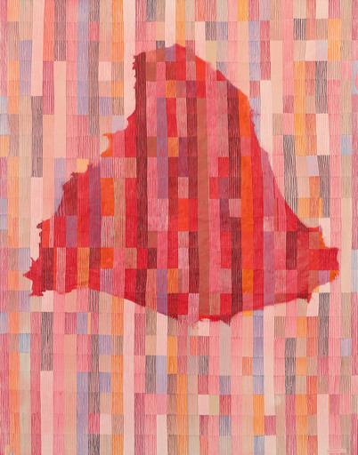 Jérémie IORDANOFF - Peinture - Untitled 702 (Abstract painting)