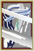 Roy LICHTENSTEIN - Estampe-Multiple - Reflections on an Expressionist Painting