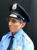 Marc SIJAN - Skulptur Volumen - Seated security guard