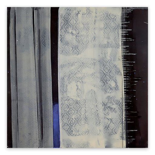 Marcy ROSENBLAT - 绘画 - Blue Line And Stars