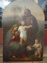 Philippo COSTAGNI - Peinture - La Sainte Famille-Holy Family
