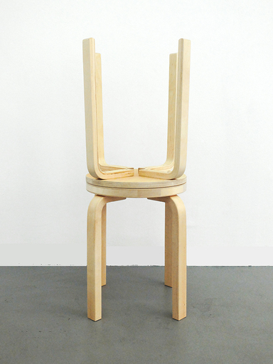 Jonathan MONK - Sculpture-Volume - Did you shit on my stool ?