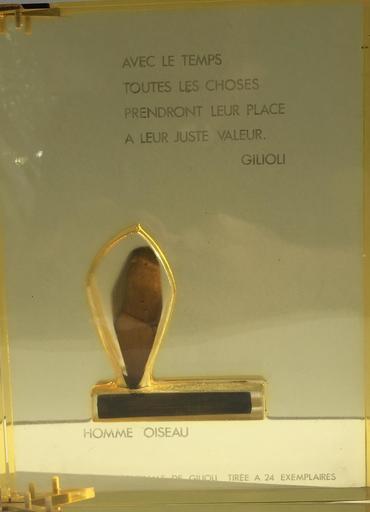 Émile GILIOLI - Sculpture-Volume - l'homme oiseau
