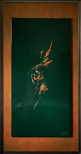 Elodie DOLLAT - Gemälde - Ondelindë VI