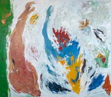 Hubert SCHEIBL - Painting - Abstrakte Komposition