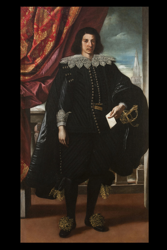 GUERCINO - Painting - Portrait of Francesco I d'Este, duke of Modena