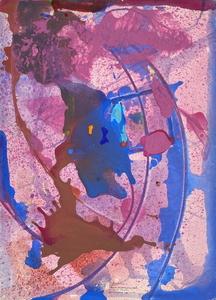 Jean Robert IPOUSTEGUY - 水彩作品 - Composition abstraite