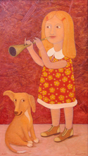 """Roman ANTONOV - Gemälde - """"Duet"""""""