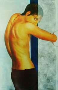 Christian SATIN - Painting - Time Out    (Cat N° 6917)
