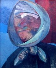 Rafael UBEDA PIÑEIRO - Painting - cabeza