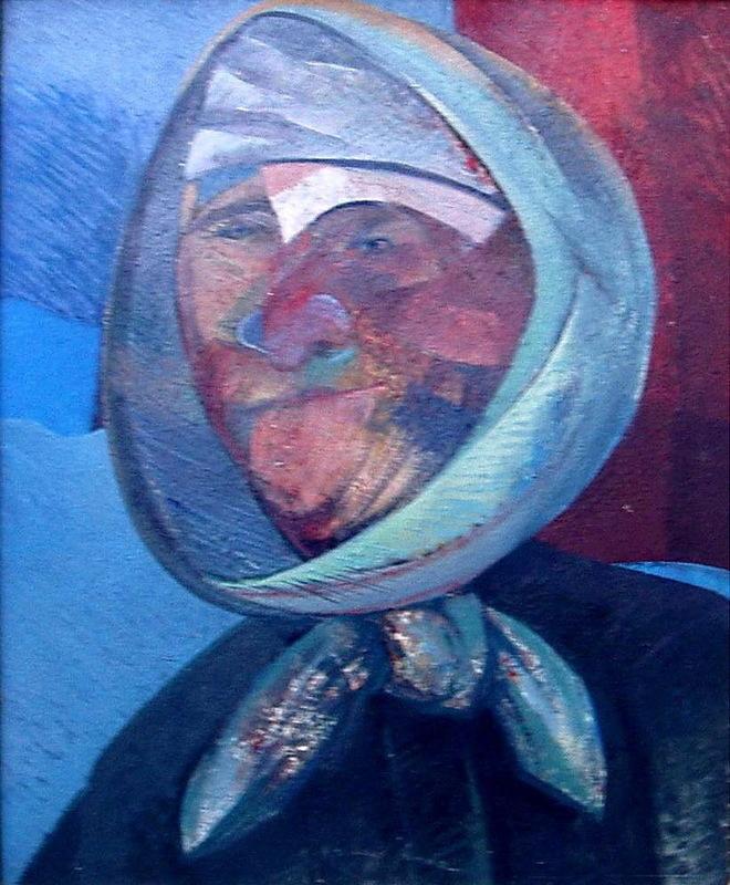 Rafael UBEDA PIÑEIRO - Pintura - cabeza