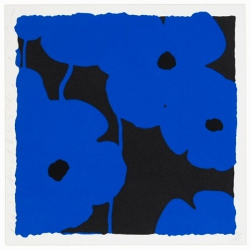 Donald SULTAN - Print-Multiple - Blues, Sept. 24, 2008
