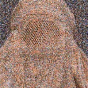 Rashid RANA - Stampa Multiplo - Veil II