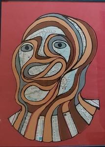 Kosta ALEX - Peinture - REGARD