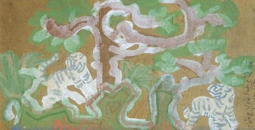 Nguyen Tu NGHIEM - Pintura - Tigers