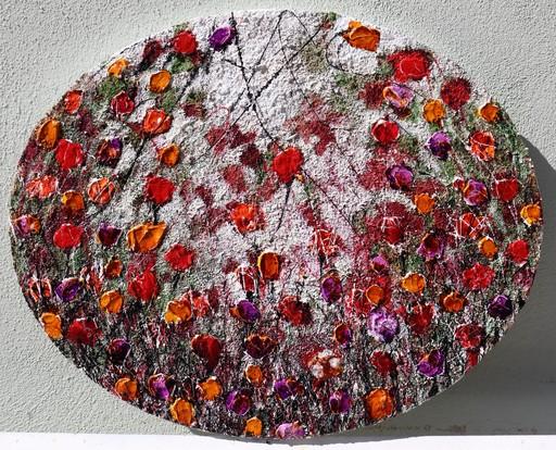 Donatella MARRAONI - Painting - poppies...flowers