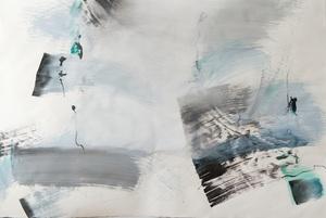 Margareta LEUTHARDT - Painting - Sommerarbeit Vl