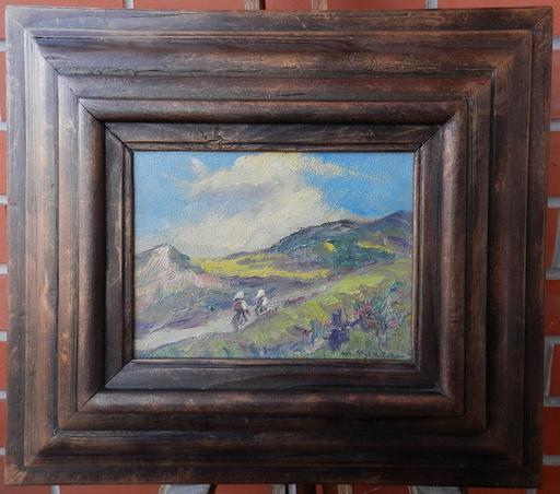 Martin BENKA - Painting - Jar pod Hoľami(Martin)