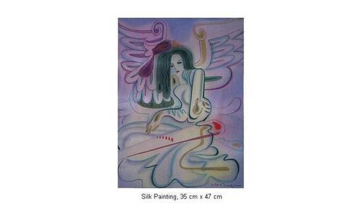 Mai LONG - Painting - Dan Tranh, Long 01