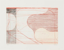 Richard DIEBENKORN - Grabado - Construct (Drypoint)