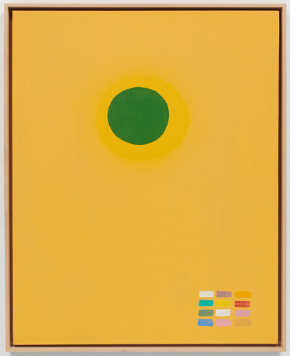 Adolph GOTTLIEB - Painting - Green disc
