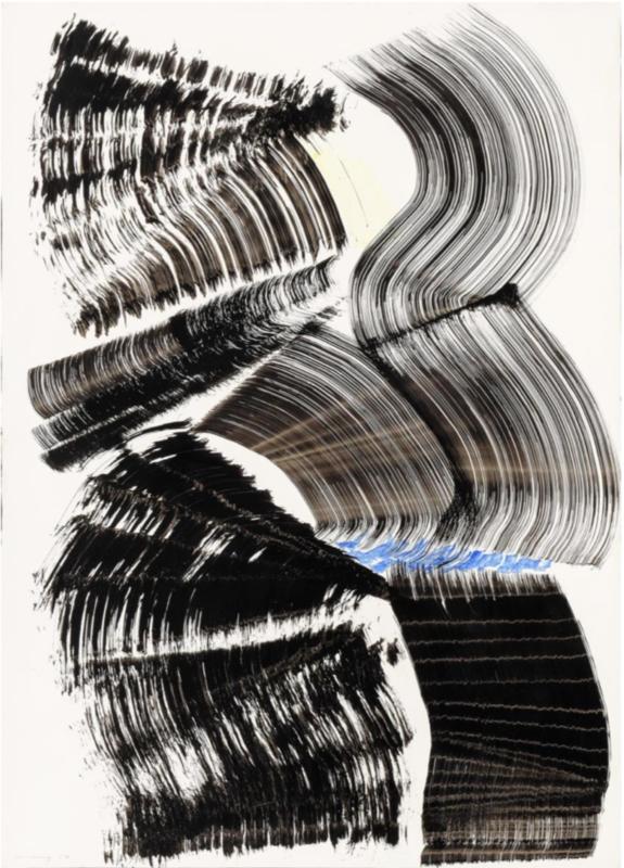 Hans HARTUNG - Painting - P 1967-A6