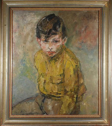 Giuseppe FOGLIA - Pintura - Ritratto di ragazzo