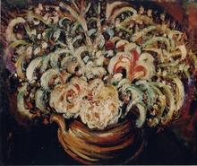 Pierre Jean DUMONT - Peinture - Fleurs, 1911