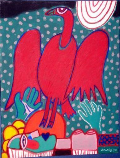 CORNEILLE - Painting - compositie