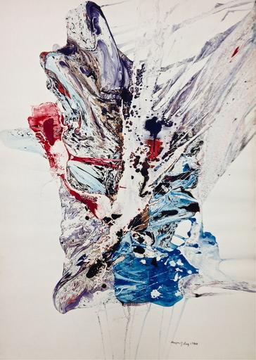 August PUIG - Gemälde - Untitled 1960