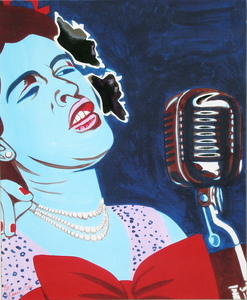 Bernard RANCILLAC, Billie Holiday