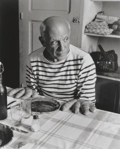 Robert DOISNEAU - Photography - Les Pains de Picasso