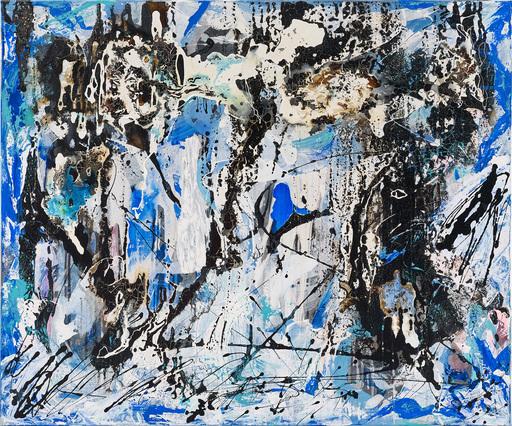 Ursula SCHREGEL - Peinture - Kalt-Front