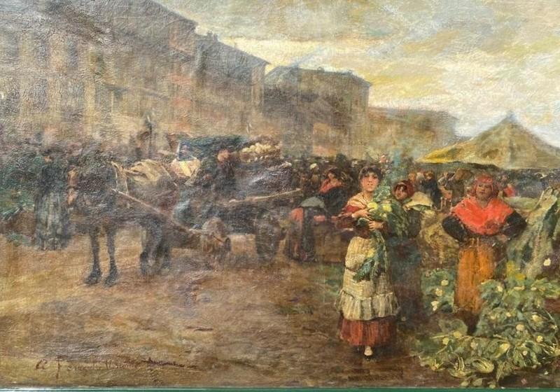 Adolfo A. Ferraguti VISCONTI - 绘画