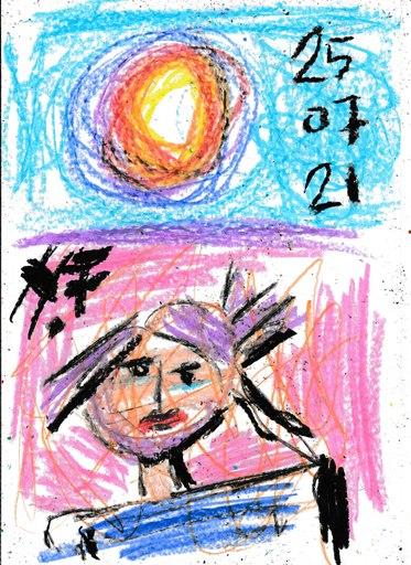 Harry BARTLETT FENNEY - Drawing-Watercolor - lolita   (25 07 21)
