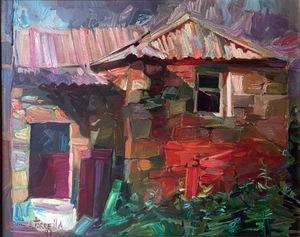 Ricardo SEGURA TORRELLA - Pittura - Casa de aldea