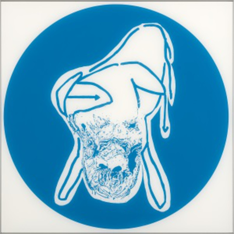 Oliver DORFER - Painting - Blueprint 3