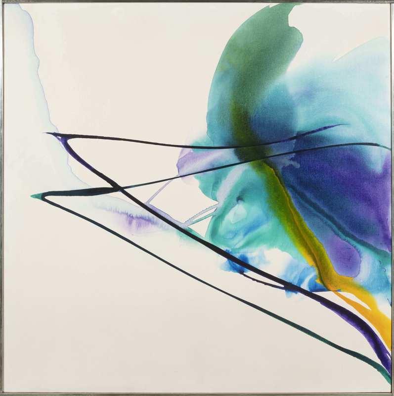 Paul JENKINS - Painting - PHENOMENA MARCH VEILS
