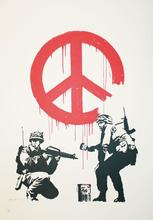 BANKSY - Grabado - CND Soldiers - signed