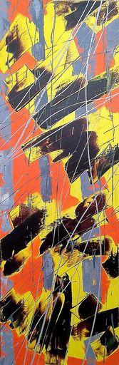 Marie Edmée SEGUIN - Painting - La nuit des temps N°25
