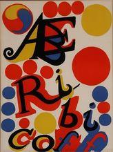 Alexander CALDER - Estampe-Multiple - ABE RIBICOFF