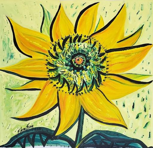 Flora FONG - Painting - En busca del sol