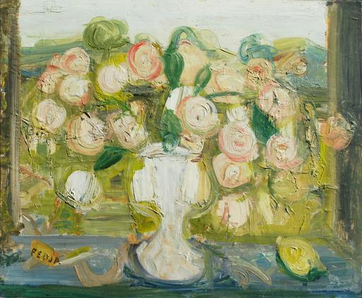 Predrag MILOSAVLJAVIC - Pittura - Bouquet de Roses