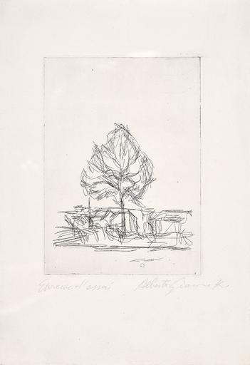 Alberto GIACOMETTI - Print-Multiple - L'abre