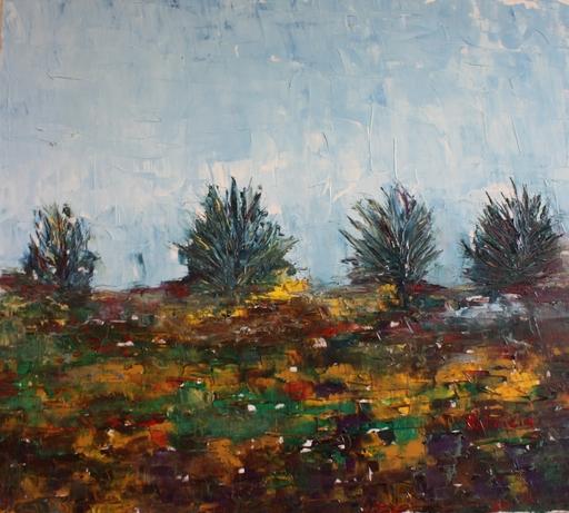 Patricia ABRAMOVICH - Pittura - Brown Field