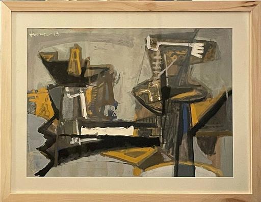 John Harrison LEVEE - 绘画 - Untitled