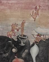 罗贝托•马塔 - 版画 - Untitled from 'Così fan tutte' portfolio
